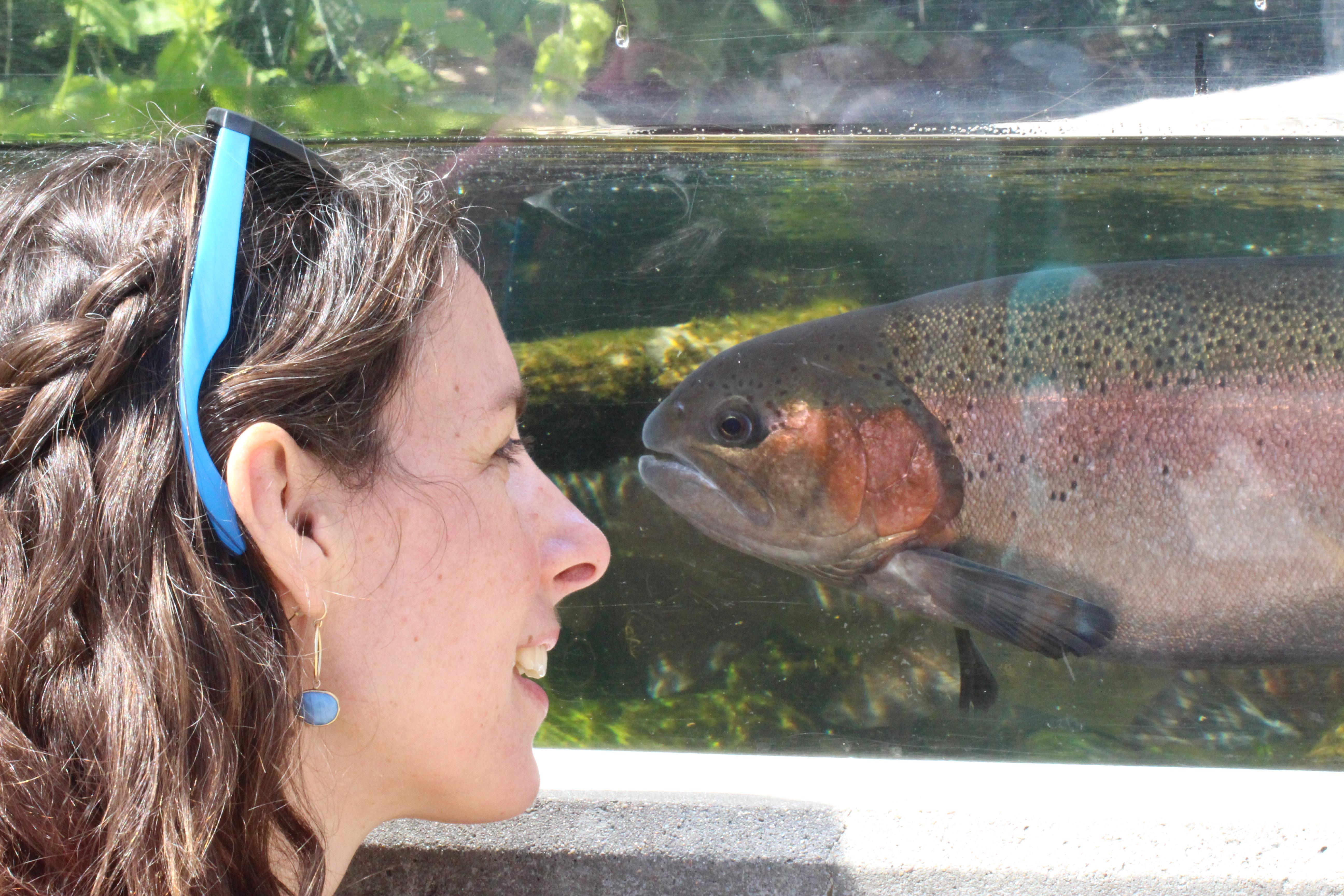 mariah and salmonid